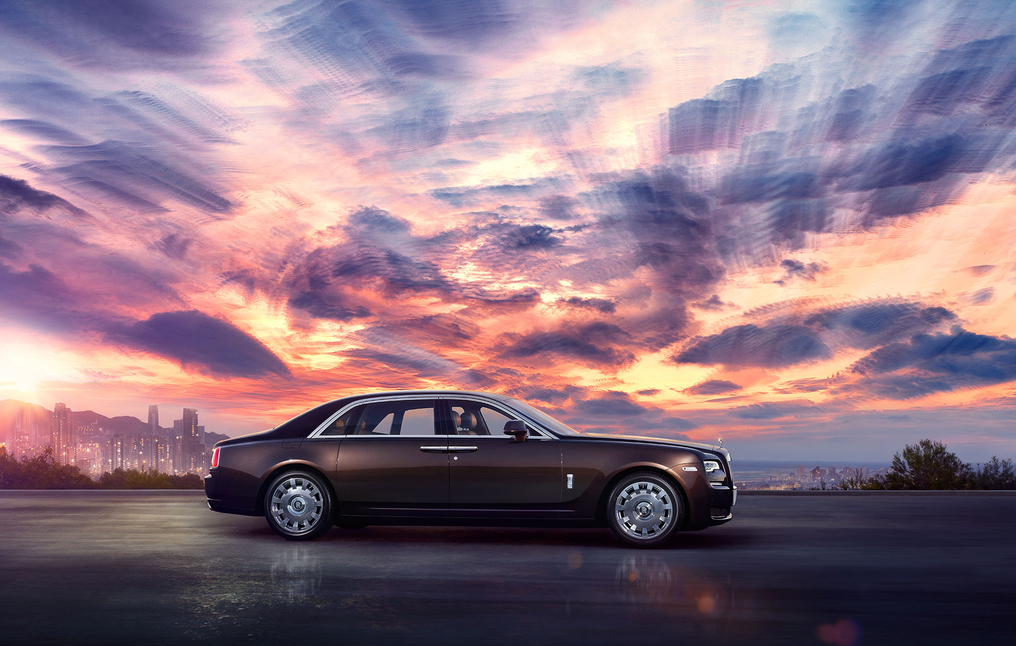 rolls royce ghost ii circlemedia cgi amp post production